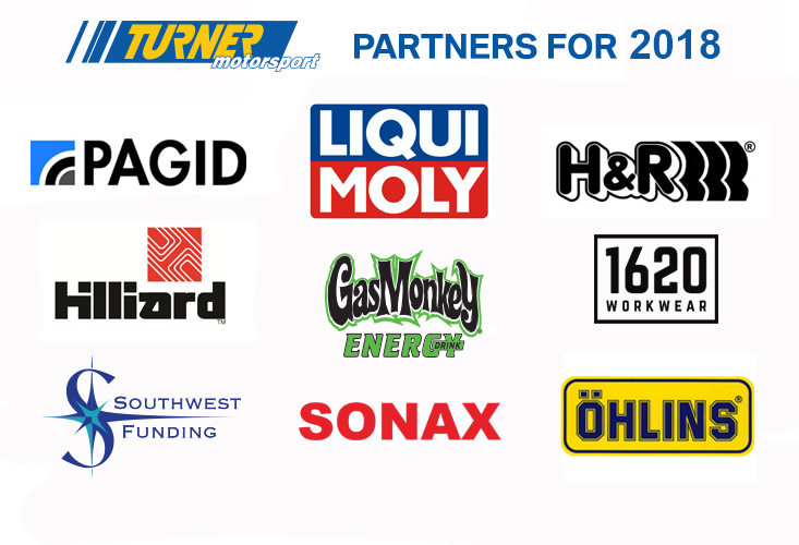 Turner Motorsport Race Partners 2018