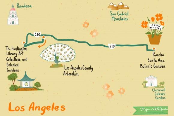Los Angeles Garden Tour