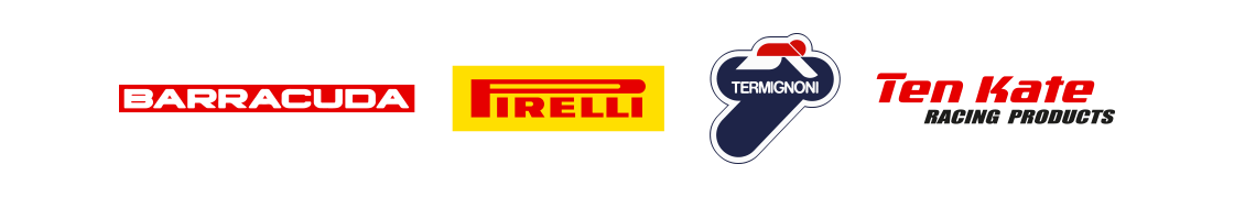 Barracuda, Pirelli, Termignoni, Ten Kate
