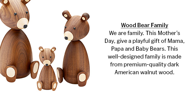 Wood Bear Family